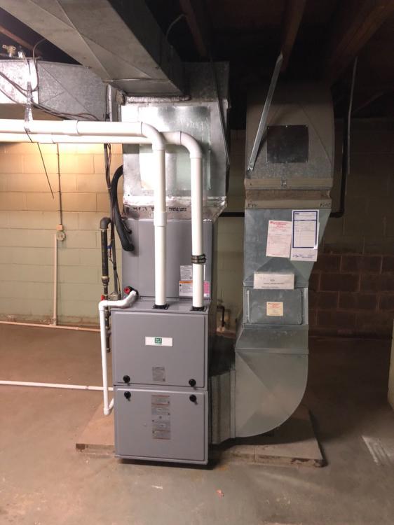 Basement Furnace Installation in Carmel Indiana